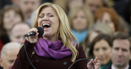 Kelly Clarkson, Beyonce perform at the 2013 inauguration