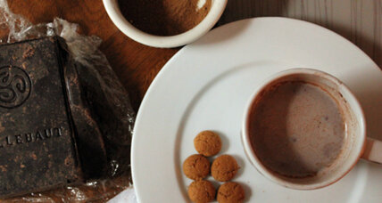 Gingerbread spice hot chocolate mix