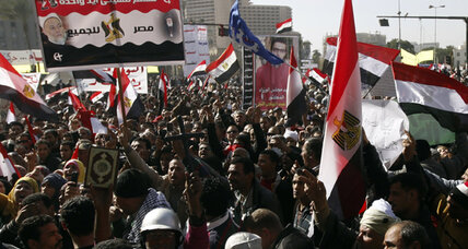 Egyptians mark uprising anniversary with protests