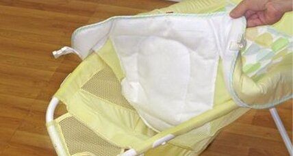 Fisher-Price recalls 800,000 baby seats