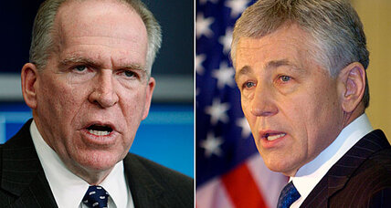 Who faces tougher nomination: John Brennan at CIA or Chuck Hagel at defense?