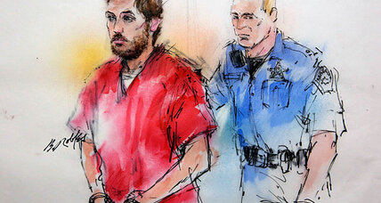 James Holmes: Hand puppets, online dating, and tear-gas grenades