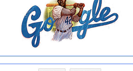 Jackie Robinson honored by Google Doodle and Hollywood (+video)