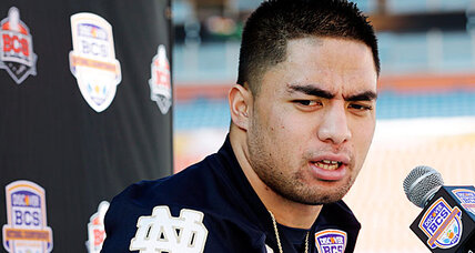 After Manti Te'o learned about the hoax, he kept talking about his 'girlfriend' (+video)