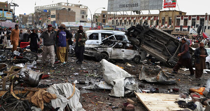 Over 100 people killed in multiple Pakistani bombings Thursday