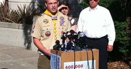 Boy Scouts reconsidering anti-gay policy