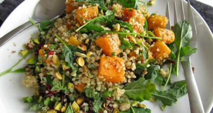 Meatless Monday: Roasted squash and quinoa salad