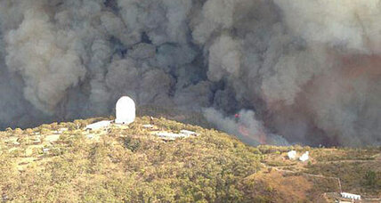Wildfires uncover drug lab in Australia, but miss big telescopes