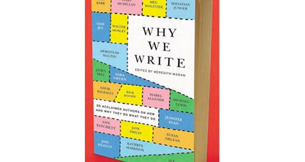 'Why We Write': 10 authors speak about why they love their craft