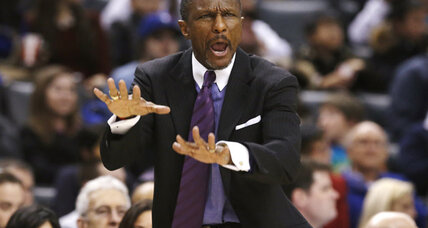 Coach fined $25,000: Raptors coach Casey fined for criticizing refs