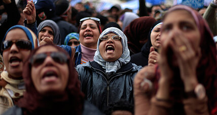 Egyptians work to reclaim a Tahrir tainted by sexual assault