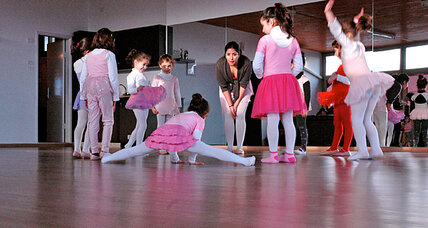 In West Bank, a space for tutus and pirouettes