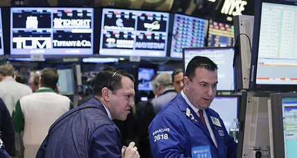 Stock market dives after Dow hits 14,000