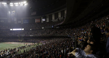 Superdome power outage embarrassing for New Orleans