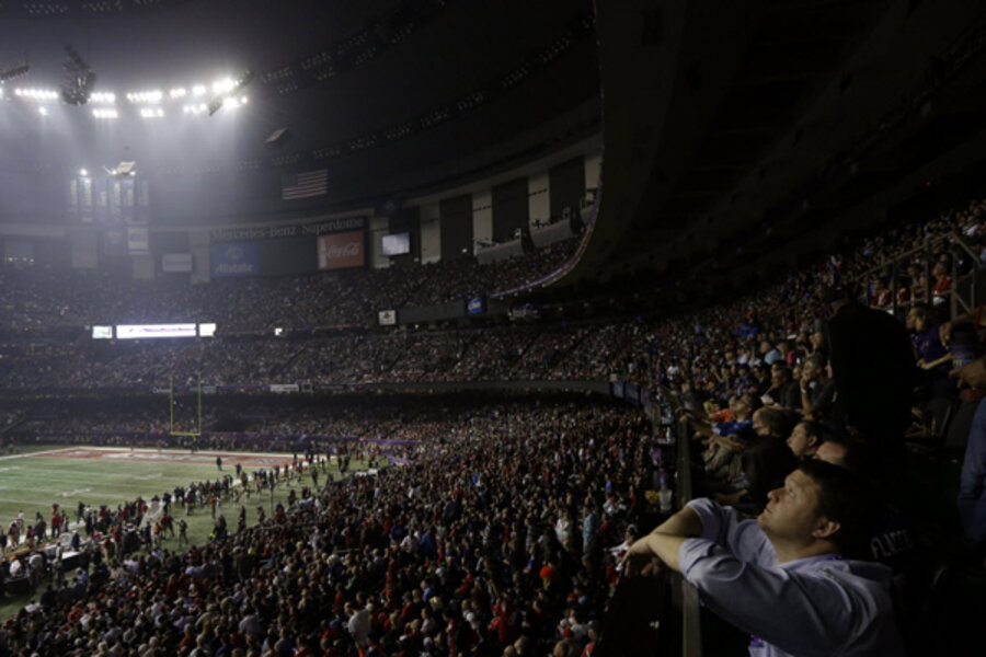 Superdome power outage embarrassing for New Orleans - CSMonitor com