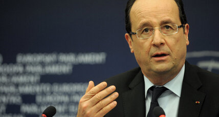 French President Hollande prepares for tough EU summit