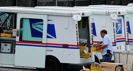 Sleet and snow can't stop the Postal Service – but Saturdays can