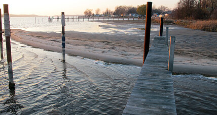 Two Great Lakes hit record low levels: Climate crisis or natural cycle?