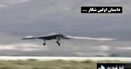 Iran airs footage allegedly from captured US drone