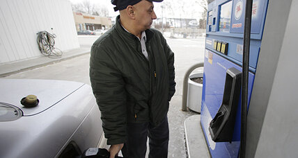 Gas prices surge as economy shows growth