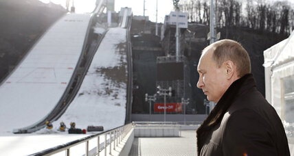 TV drama? Putin rips Sochi official on air over Olympic cost overruns
