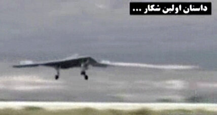 Trumpeting technological strength, Iran releases video it says is from downed US drone (+video)