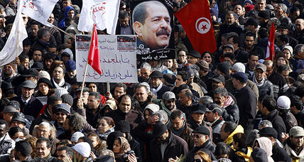 Tunisians mourn slain opposition leader amid concerns of rising turmoil (+video)