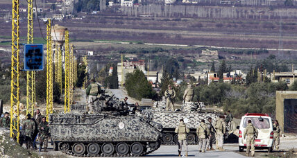 Lebanese military seals off a town involved in Syrian rebellion