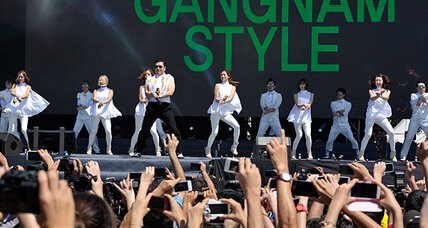 K-pop sensation Psy dances into Malaysia's political drama, Gangnam style (+video)