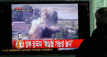 North Korea tests third nuclear device, prompting emergency UN meeting (+video)