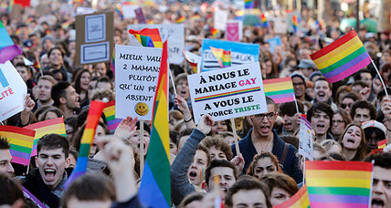 Gay marriage and adoption bill passes in French Assembly