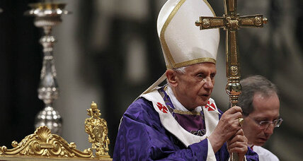 Pope Benedict XVI: A 'simple and humble worker'