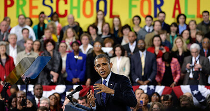 From preschool to high school, Obama seeking big progress in education