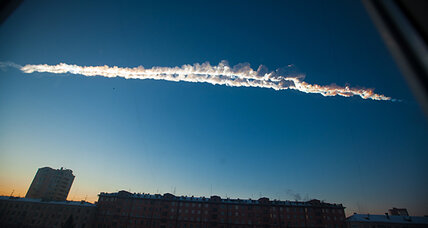 Meteorite - not the end of the world - strikes Russia's Siberia