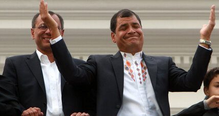 Ecuador's Correa wins reelection, eyes investment