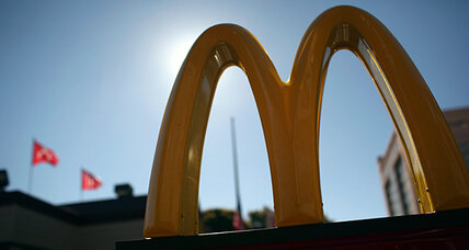 Going green: Forget the McNugget eaters, target McDonald's itself