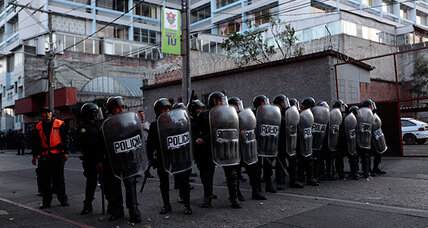 Guatemala gets a bump in its police force