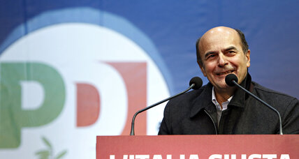 The man who would be Italy's next prime minister: Pier Luigi Bersani