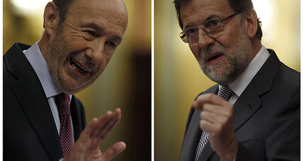 Upbeat Rajoy says Spain is on the mend, despite economic woes