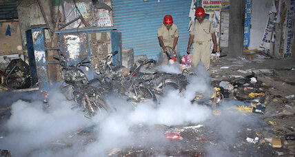 India on high alert: Twin bike bombs kill at least 11 in southern Indian city of Hyderabad