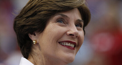 Laura Bush: Gay marriage group 'sorry' Bush wants out of gay marriage ads