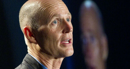Florida Gov. Rick Scott reverses stance on Medicaid. Win for White House? (+video)