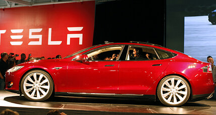 Tesla Motors says it will make profit on electric cars by April