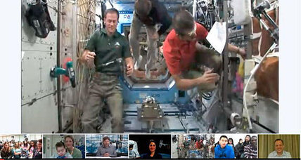 People worldwide hang out with astronauts on Google+