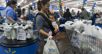 Why is Wal-Mart worried? Payroll tax could cut consumer spending. (+video)