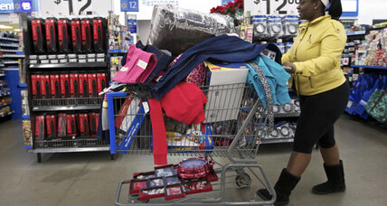 Wal-Mart weak forecast gives glimpse of economy