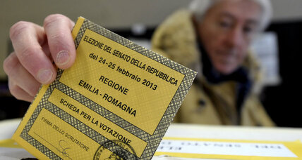 Economy at stake in Italian parliamentary elections