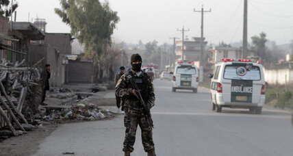Suicide bombers target Afghan intelligence agency, police