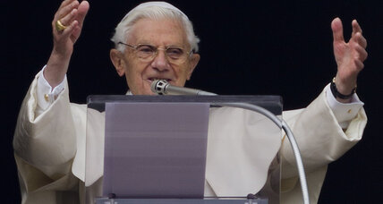 With Pope Benedict's retirement, the where is clearer than the how (+video)