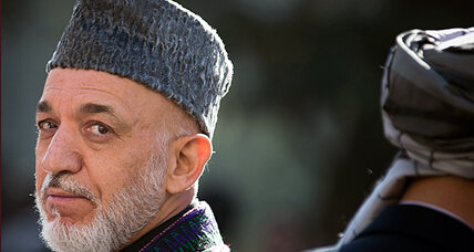 Hamid Karzai is mad as heck and he isn't going to take it anymore